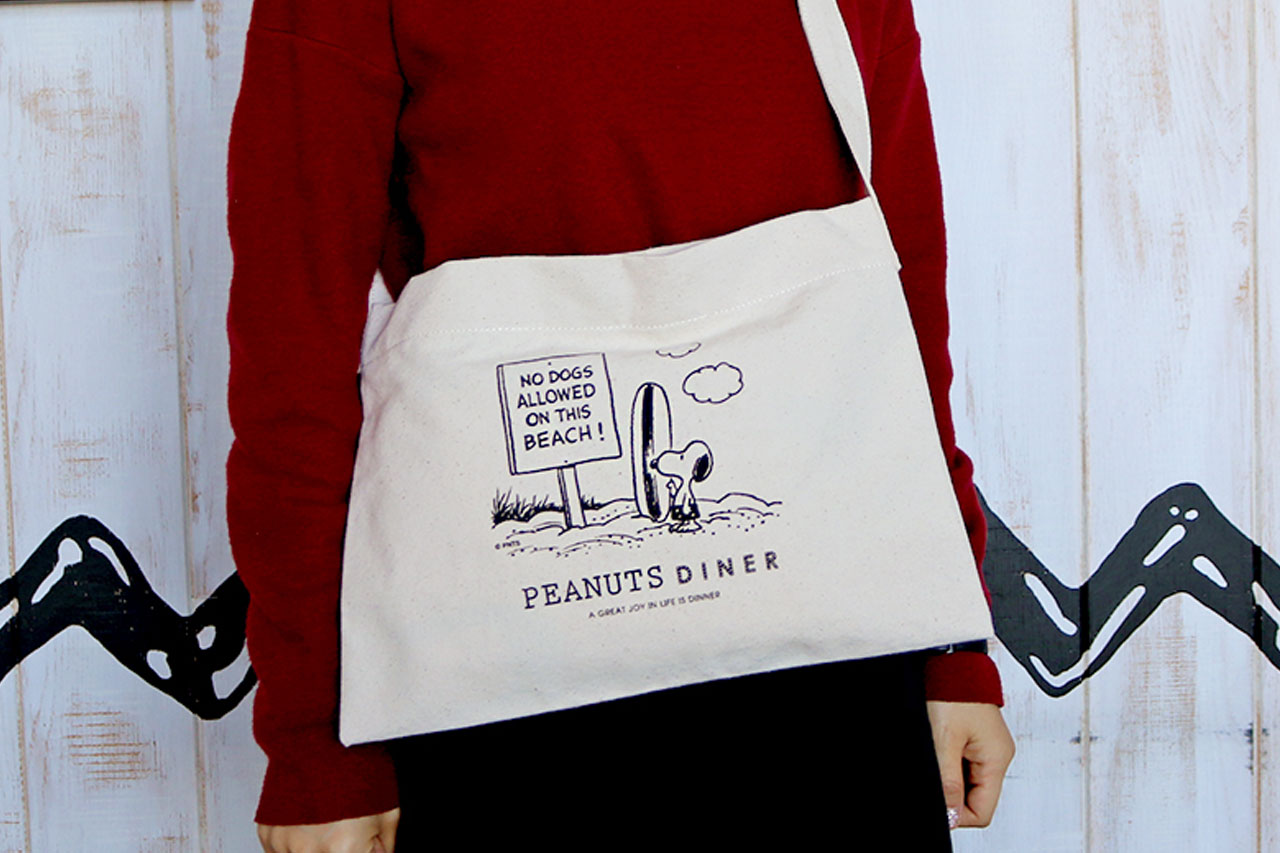 PEANUTS DINER グッズ トートバッグ