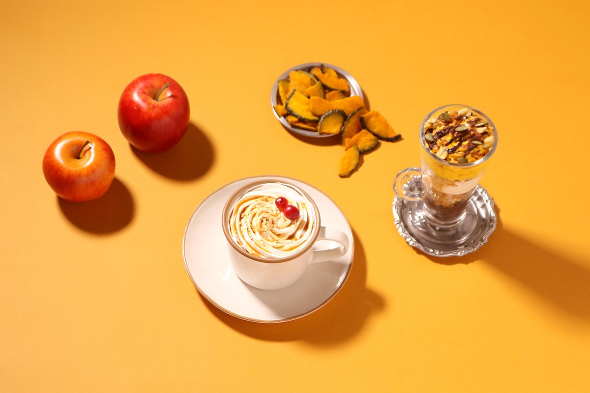 秋にぴったりのおすすめデザートとホットドリンクが10/9(金)より期間限定で登場!