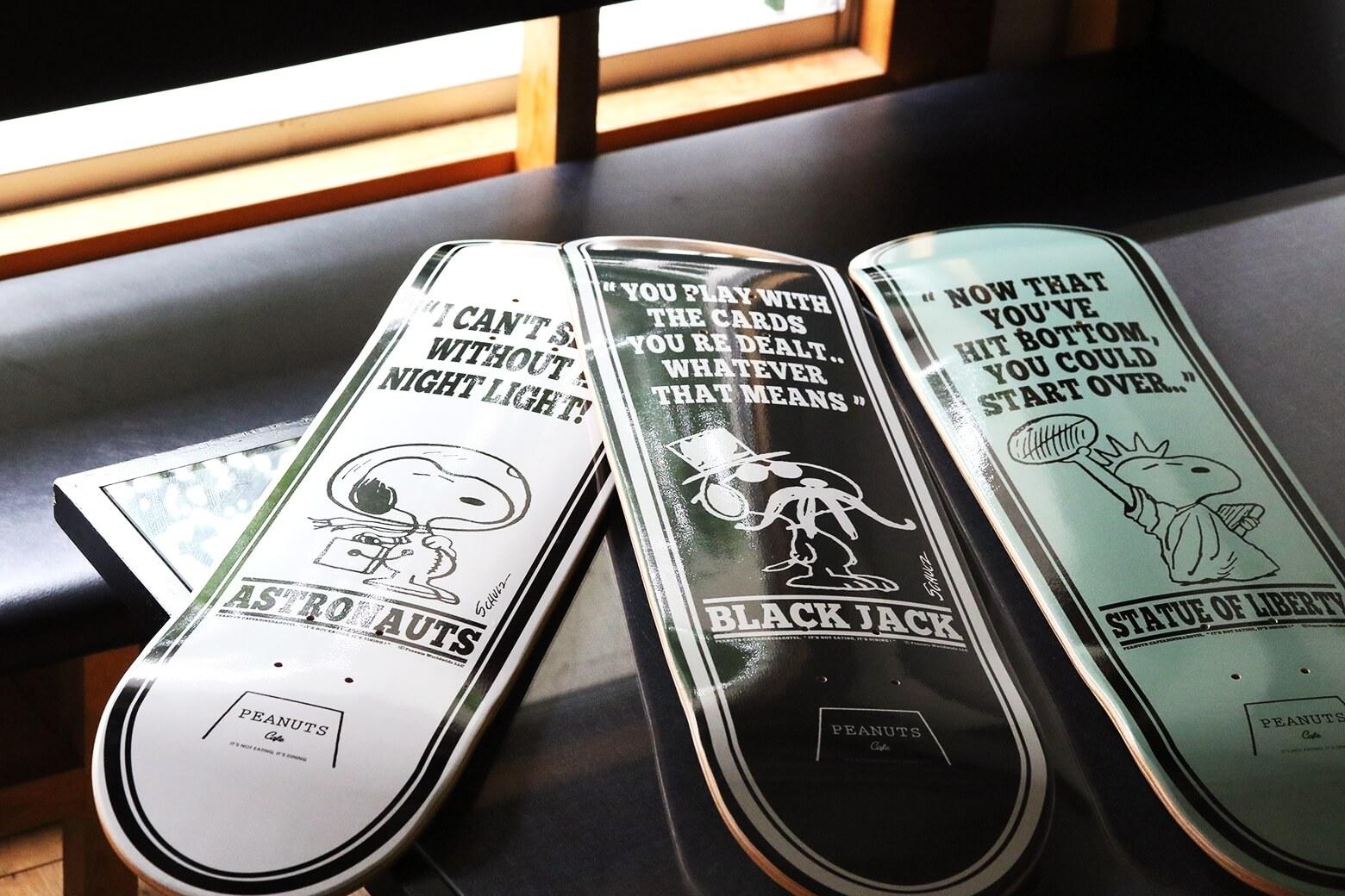 【数量限定】変装スヌーピーのスケートボードデッキが「PEANUTS Cafe オンラインショップ」に登場!